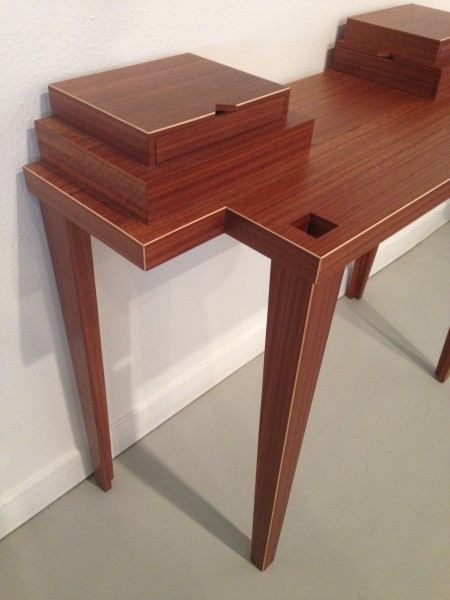 création meuble bureau bois design
