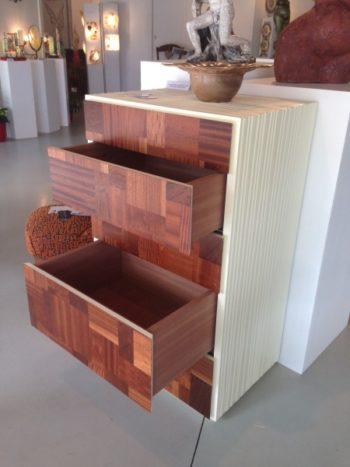 commode création meuble ébénisterie